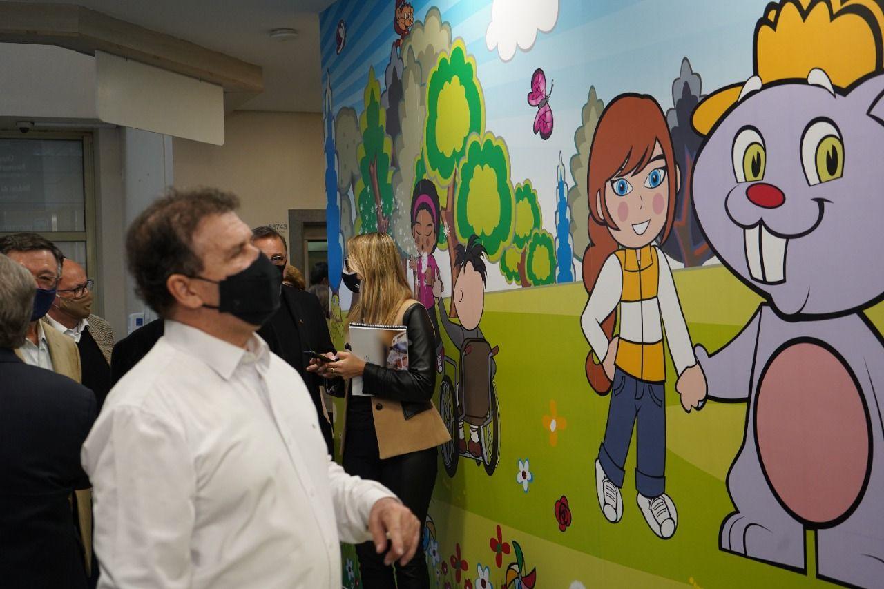 Deputado Pompeo inaugura obras na Santa Casa e Hospital da Criança de Porto Alegre