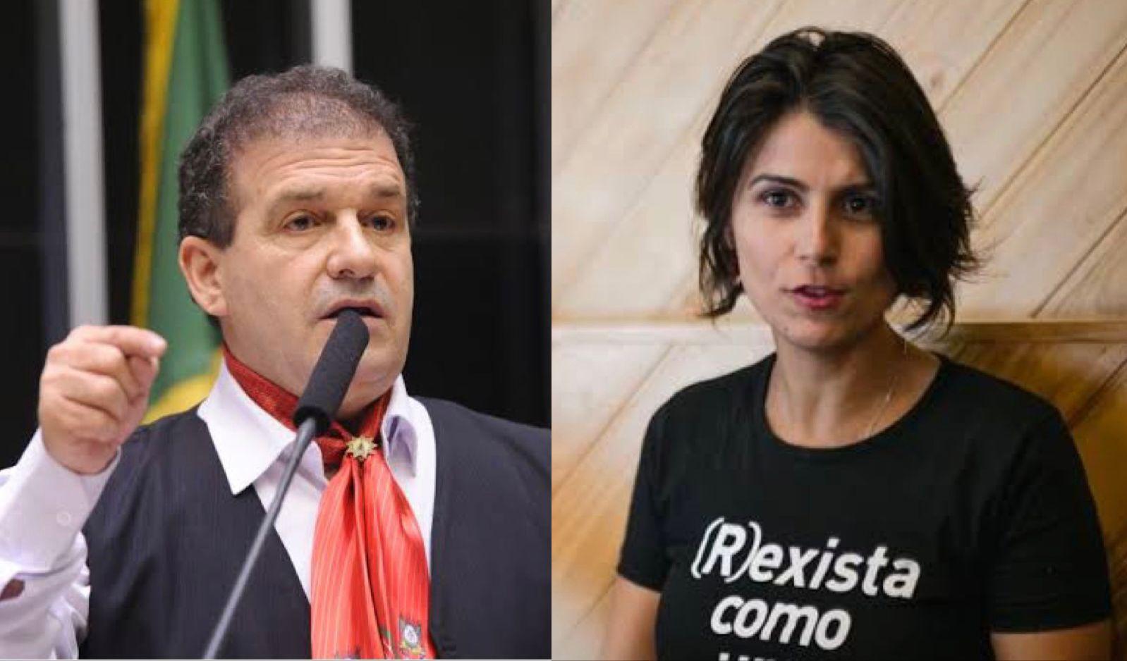 Manuela d'Ávilla perde processo contra o deputado Pompeo